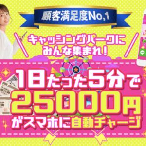 渡辺愛 キャッシングパーク(CASHING PARK)は5分で25000円稼げる?怪しい?評判と口コミは?