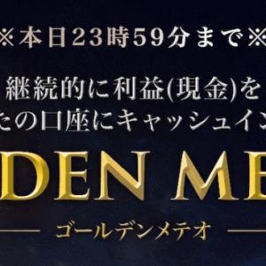増田雄亮 GOLDEN METEO(ゴールデンメテオシステム)は毎月150~300万円稼げる?怪しい?評判と口コミは?