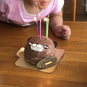 日曜日は、孫5歳の誕生日でした。