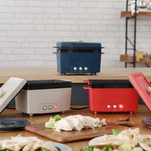 サラダチキンメーカー ワンタッチでヘルシーサラチキが簡単調理!