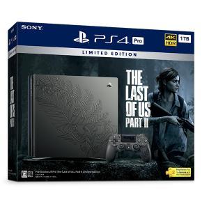 ★予約受付中★ PlayStation 4 Pro The Last of Us Part II Limited Edition(ラストオブアス パートツー リミテッドエディション) [CUHJ-10034]