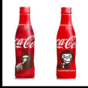 ★5月25日数量限定発売★Coca-Cola × A BATHING APEコラボボトル