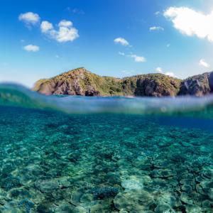 女子一人旅のダイビングライセンス講習。締めは慶良間諸島へ^^