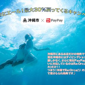 PayPayキャッシュバックキャンペーン 沖縄市
