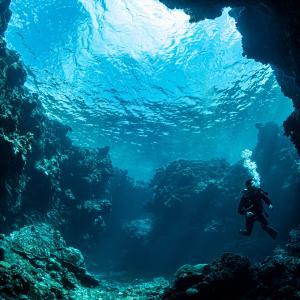 沖縄北部の離島ー水納島・瀬底島でファンダイビング