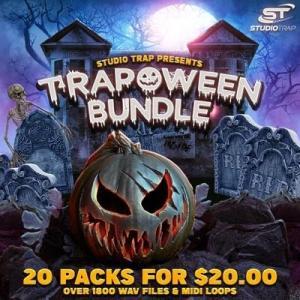 トラップ、ヒップホップに最適な20のサンプルパックを収録したサンプルバンドル、Studio Trap「TRAPOWEEN BUNDLE」が66%OFF、20ドルに