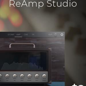 大量のストンプボックスやアンプを搭載した、強力なアンプシュミレータプラグイン、Audio Assault「ReAmp Studio」が80%OFF、24ドル最安に!!!