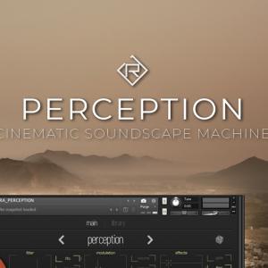XYパッドによるリアルタイムのサウンドデザインを実現するシネマティックサウンドスケープインストルメント、Rigid Audio「Perception」がリリース、イントロ限定セールで88%OFF、7ドルに!!!