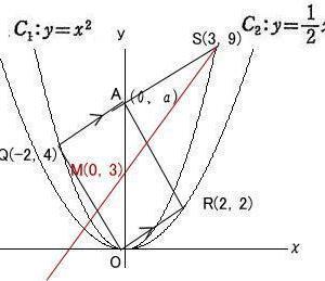 芝浦工業大学附属高校2020年度 応用数学入試問題1.座標平面 (3) 解説解答