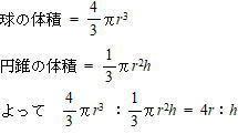 成城学園高校 2019年度 数学入試問題 2. 平面図形(円の性質)(1) ①解説解答