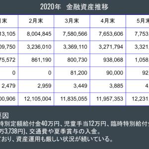 金融資産公開 2020年6月末