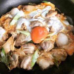 鶏とじ定食