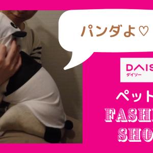 【100均】ダイソーのペット服が安くて可愛い!