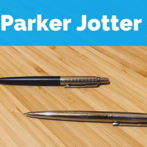 【パーカー ジョッター レビュー】書き心地が良い愛用のボールペン リフィルも