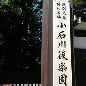 ①ハンドメイドフェスの帰りに 小石川後楽園へ