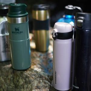 ソロキャンプにおすすめの容量【500ml・1L】の水筒!