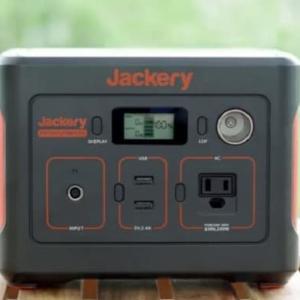 キャンプに最適!Jackery ポータブル電源400をレビュー!240との違いは?