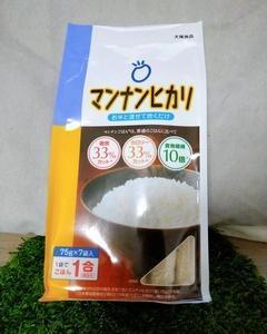 マンナンヒカリで糖質制限 / 大塚食品