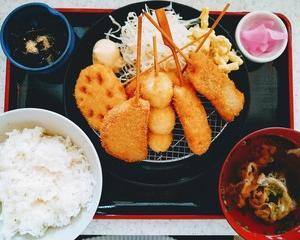 串カツ「宮迫」でお昼ごはん/ 大分市