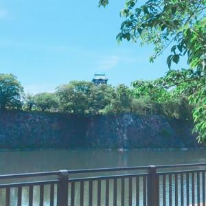 大坂城にはもうすでに人がいっぱい!!