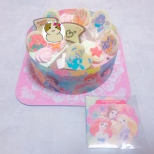 ★ディズニープリンセスのケーキ★