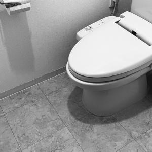 シンプルなトイレ空間