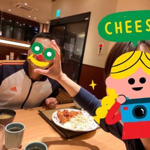 久々の夫婦テニスと外食~!!