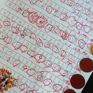【4歳】100マス計算はじめました!