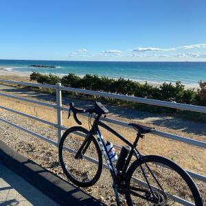 サイクリング【浜松市沿岸域防波堤】