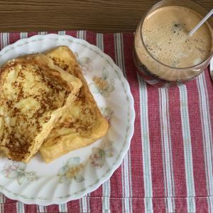 【お家を楽しもう】【おうちカフェ】フレンチトースト(^^♪