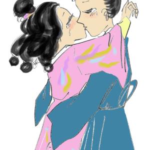 ⑤天上の虹 后を迎えるには十分な年ごろの二人の皇子に愛された皇女。