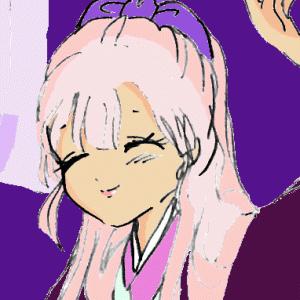 読解に挑む!鬼が辻にあやかしあり① 小学5年が廣島玲子さんの挿絵を描いた。