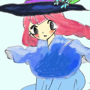 ③月の魔女メープルと黒猫のお話。遂にほうきで飛べた魔法少女。