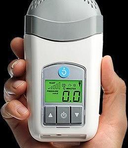 超小型CPAP『ゼットワン』バッテリーも有り