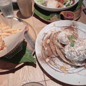 コナズのパンケーキ