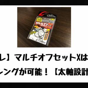 【インプレ】マルチオフセットXはパワーフィッシングが可能!【太軸設計で安心】