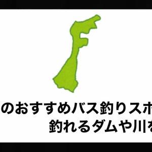 石川県のおすすめバス釣りスポット!釣れるダムや川を紹介。