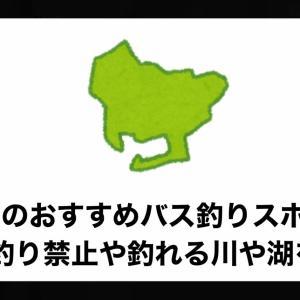 愛知県のおすすめバス釣りスポット!釣り禁止や釣れる川や湖を紹介。