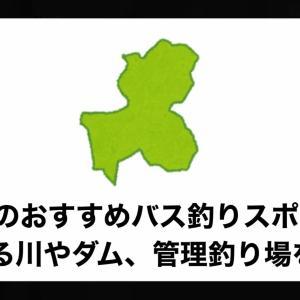 岐阜県のおすすめバス釣りスポット!釣れる川やダム、管理釣り場を紹介。