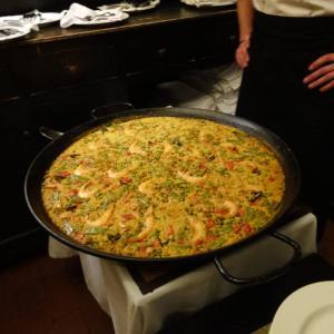 スペイン旅行で食べたパエ~リアを作ってみた♪