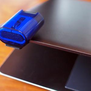 これぞモバイルマウス!『ELECOM CAPCLIP』が便利で可愛い