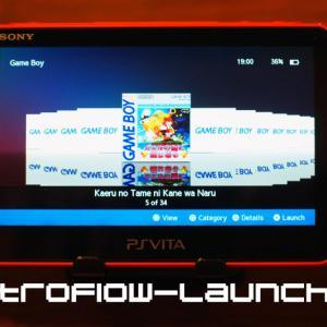 VITAをガチのエミュ機にできる『RetroFlow-Launcher』を紹介