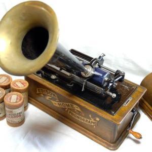 作曲家による自作自演の録音とロウ管蓄音機