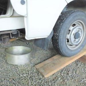 軽トラ・ハイゼットのオイル交換の方法