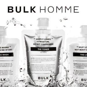 BULKHOMME(バルクオム)洗顔・スキンケアの特徴や効果
