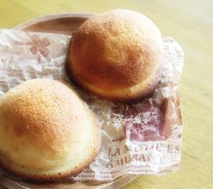 ふわふわとサクサクの融合 帽子パン