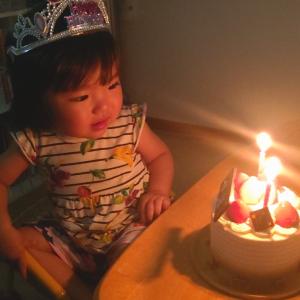 愛娘が2歳になりました
