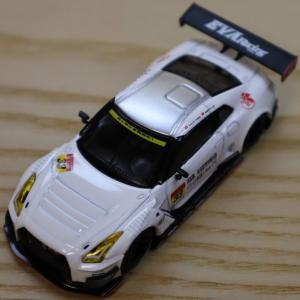 1/64 MINI GT エヴァ RT TEST TYPE-01 X Works GT-R OKAYAMA TEST SUPER GT 2019