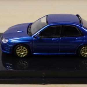 1/64 MC64 SUBARU IMPREZA WRX STI 2006 BLUE 限定700