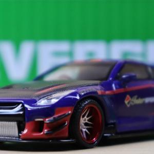 1/64 MINI GT LB★WORKS Nissan GT-R R35 日産 InterSPORT 40周年記念 インドネシア限定